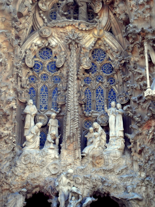 If you ever need a little inspiration on your Catholic walk through this life, then I'd recommend a trip to Barcelona to see Gaudi's Sagrada Familia.  Breath-taking.