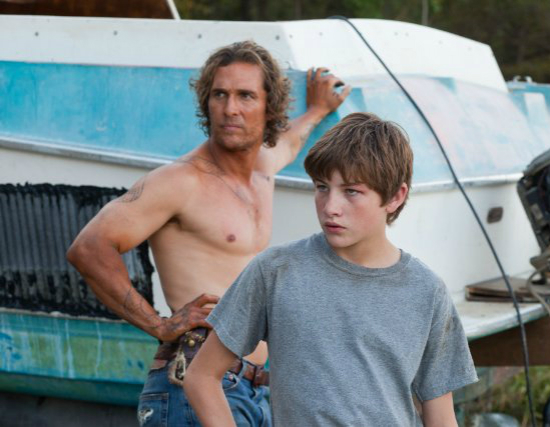 Mud. A movie by Jeff Nichols.  I loved it.