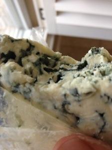 blue cheese. yum?