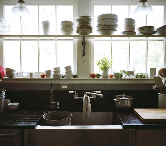 Photo from real simple.com.  Click image to read about rustic home decor.
