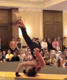 Ana Forrest: Yoga Journal demonstration, 2007