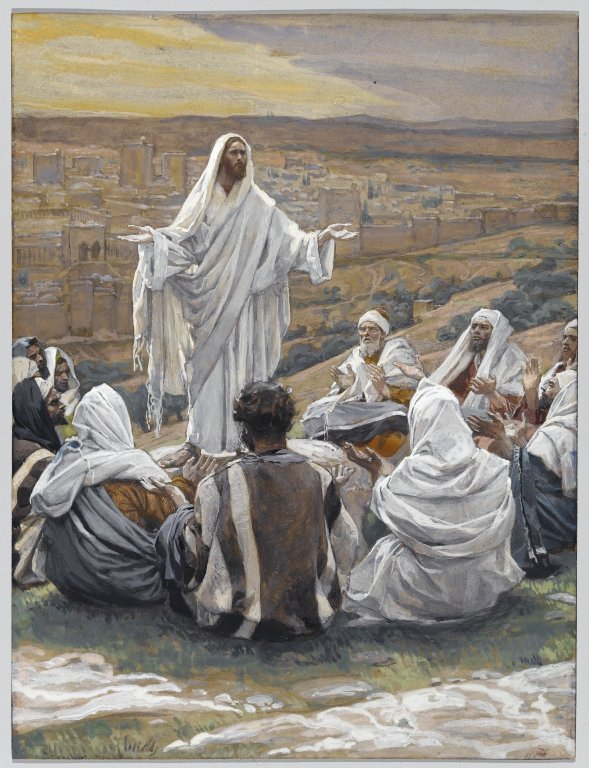 James Tissot – The Lord's Prayer (Le Pater Noster) – Brooklyn Museum