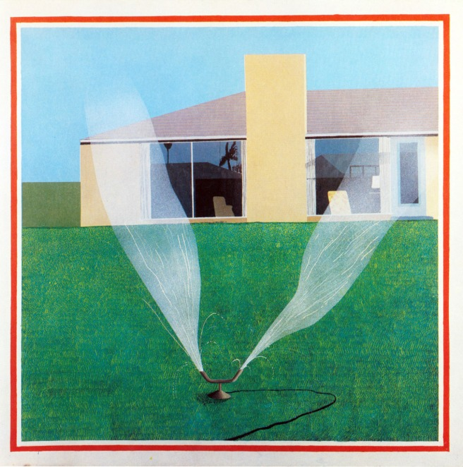 David Hockney, A Lawn Sprinkler, 1967